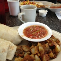 Photo taken at South Wedge Diner by Scott E. on 7/4/2013