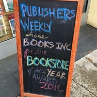 Photo taken at Books Inc. by Adam S. on 4/11/2016