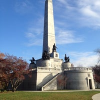 Photo taken at Lincoln Tomb State Historic Site by Drew P. on 10/27/2012
