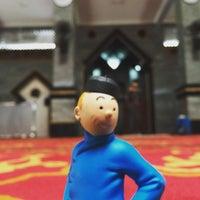 Photo taken at Masjid Raya Al-Musyawarah by Mokhammad M. on 7/26/2016