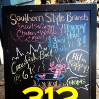 Photo taken at Double Wide Bar & Southern Kitchen by Cherish W. on 3/10/2013