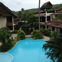 Photo taken at Phi Phi Banyan Villas by Andrew C. on 12/23/2012