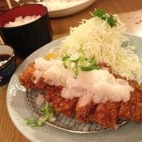 Photo taken at Katsu-Hama by Angela W. on 7/14/2013