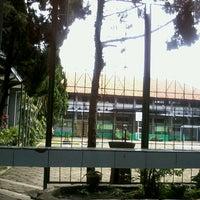 Photo taken at SMPN 45 Bandung by Ananda P. on 2/16/2013