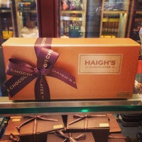 Photo taken at Haigh's Chocolates by Jacky C. on 10/28/2013