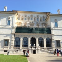 Photo taken at Galleria Borghese by Bertrand G. on 10/20/2012