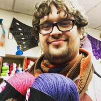 Photo taken at A Major Knitwork by Jared B. on 4/16/2016