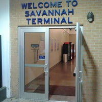 Photo taken at Savannah Greyhound Station by Fitzcarl R. on 4/13/2014