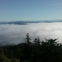 Photo taken at Spencer Butte Park by Brandy K. on 12/13/2012