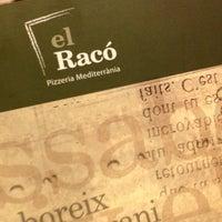 Photo taken at Pizzeria El Raco by Albert G. on 7/21/2013