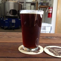 Photo taken at Oakshire Brewing by Greg L. on 4/14/2013