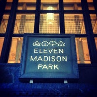 Photo taken at Eleven Madison Park by Noah F. on 12/20/2012