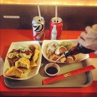 Photo taken at Dumpling Man by Noah F. on 10/20/2012