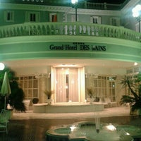 Photo taken at Grand Hotel Des Bains by Francesca F. on 11/20/2012