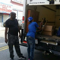 Photo taken at Harlem Self Storage by Marvin W. on 8/29/2015