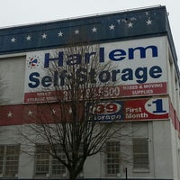 Photo taken at Harlem Self Storage by Marvin W. on 4/11/2013