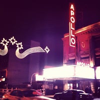 Photo taken at Apollo Theater by Robert S. on 12/2/2012