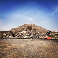 Photo taken at Zona Arqueológica de Teotihuacán by Zsuzsa P. on 1/12/2013