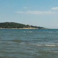 Photo taken at Urla Beach Clup by Huseyin K. on 7/4/2016