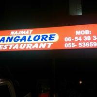 Photo taken at Najmat Bangalore Restaurant by AZEAL ®. on 11/22/2014