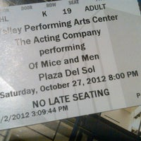 Photo taken at Plaza Del Sol Performance Hall by Sarita L. on 10/28/2012