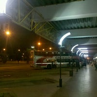 Photo taken at Terminal de Omnibus Pergamino by Joaquin G. on 9/17/2012