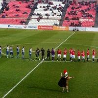 Photo taken at Nou Estadi by Fernando A. on 1/27/2013