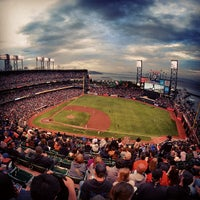 Photo taken at AT&T Park by Sebastian J. on 7/24/2013
