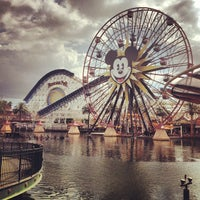 Photo taken at Mickey's Fun Wheel by LaLa C. on 10/12/2012