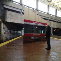 Photo taken at MBTA Quincy Adams Station by Yoav S. on 9/29/2012