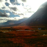 Photo taken at Glencoe Visitors Centre by Flavia V. on 10/21/2012