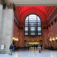Photo taken at Chicago Union Station by Jeanine on 12/26/2012