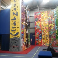 Photo taken at Extreme Edge Indoor Rock Climbing by Brent L. on 7/12/2014