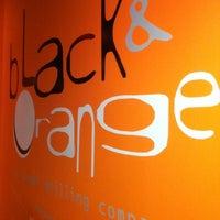 Photo taken at Black & Orange by Olivia D. on 9/14/2012