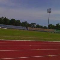 Photo taken at Stadion Wijayakusuma Cilacap by Farkhan S. on 1/11/2014