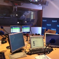 Photo taken at Europe 1 by Gaelle A. on 5/1/2013