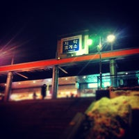 Photo taken at Chiak Service Area - Chuncheon-bound by Je man Y. on 12/10/2012