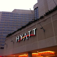 Photo taken at Hyatt Regency Crystal City at Reagan National Airport by Yazeed A. on 1/16/2013