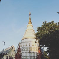 Photo taken at Wat Uppakut by Pay P. on 12/2/2016