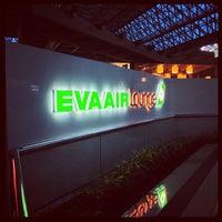 Photo taken at EVA Air Lounge by Chris C. on 6/28/2013