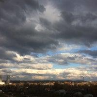 Photo taken at Микрорайон «Кожухово» by Nathalie🌷 on 10/23/2016