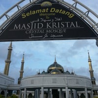 Photo taken at Masjid Kristal by azlina a. on 2/28/2013