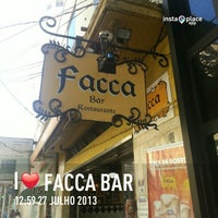 Photo taken at Facca Bar by Lucas M. on 7/27/2013