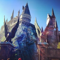 Photo taken at Harry Potter and the Forbidden Journey / Hogwarts Castle by Daniel C. on 1/24/2013