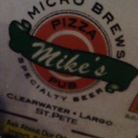 Photo taken at Mike's Pizza & Pub by Leslie 😺 B. on 12/8/2013