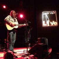 Photo taken at World Cafe Live by UNOlker on 11/25/2012
