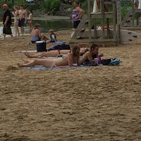 Photo taken at Henry Vilas Beach by Christopher T. on 6/22/2014