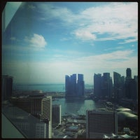 Photo taken at Suntec Tower Two by Mayuwa Y. on 11/6/2013