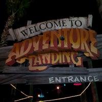 Photo taken at Adventure Landing Jacksonville Beach by Edward H. on 1/27/2013