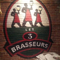 Photo taken at Les 3 Brasseurs by Stuart G. on 10/31/2015